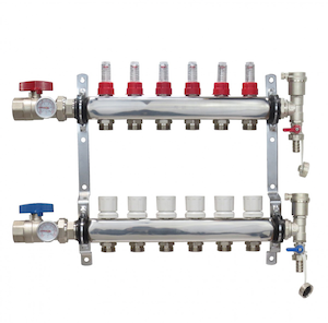 Stainless Steel Radiant Manifolds