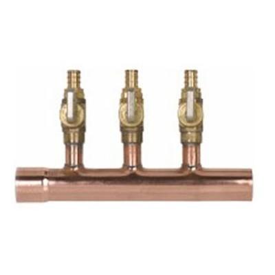 Copper Radiant PEX Manifolds