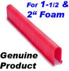 Staples for Foam Application