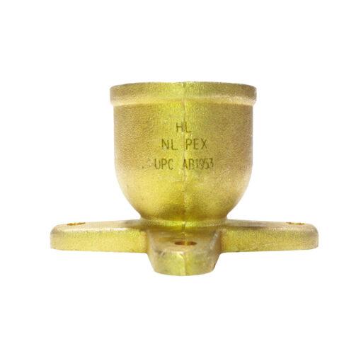 "25 Brass Crimp Fittings 3//4/"" PEX x 3//4/"" Female NPT Threaded Drop Ear Elbows"